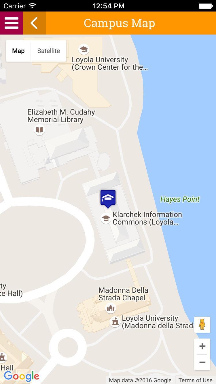 Karta Usa Chicago.Loyola University Chicago Karta Karta Av Loyola University Chicago